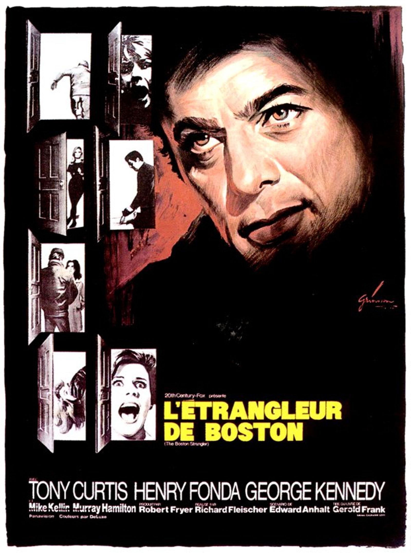 """Affiche devoirs Grinsson pour """"L'étrangleur de Boston"""""""