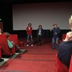Manuel Poirier, Sacha Bourdo et Bernado Sandoval lors de la présentation de Western