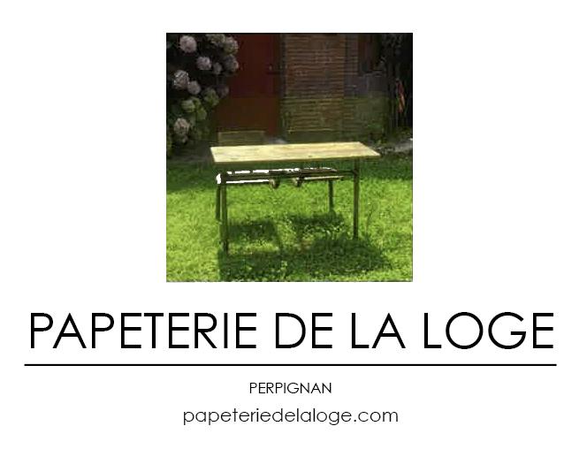 LOGO PAPETERIE LOGE