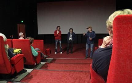 Rencontre avec Manuel Poirier, Sacha Bourdo, Bernardo Sandoval (équipe film Western)
