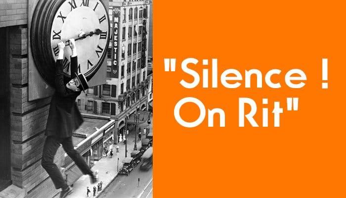 Silence On Rit Les Comiques Du Temps Du Muet Exposition D Affiches De Cinema Institut Jean Vigo